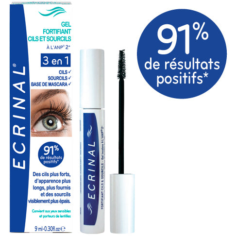 ECRINAL ANP2+ Strengthening Lash Gel 9ml - The Beauty Shoppers