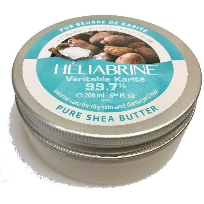 HELIABRINE Genuine Shea Butter 200ml - The Beauty Shoppers