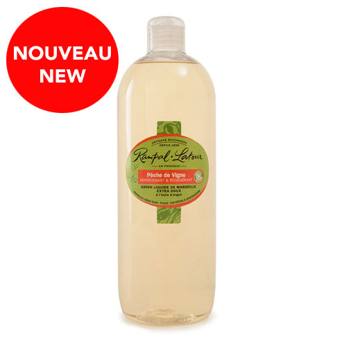 RAMPAL LATOUR Peach Marseille Liquid Soap 1 L