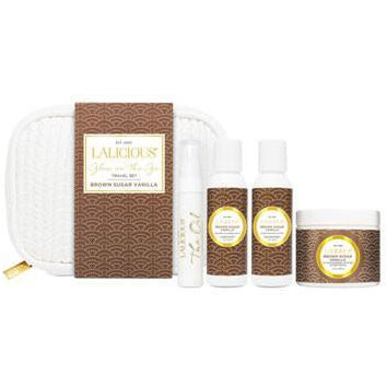 LALICIOUS Luxury Travel Essentials - Brown Sugar Vanilla - The Beauty Shoppers