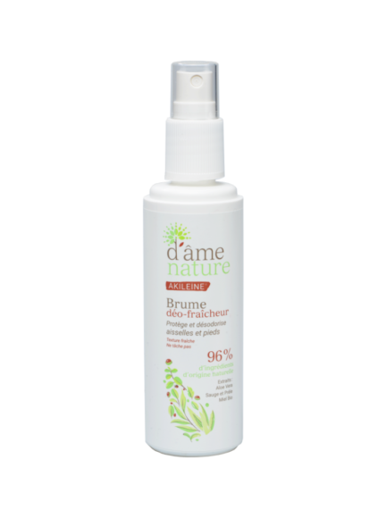 AKILEINE Foot & Underarms Refreshing Deo Mist d'âme nature 100ml - The Beauty Shoppers