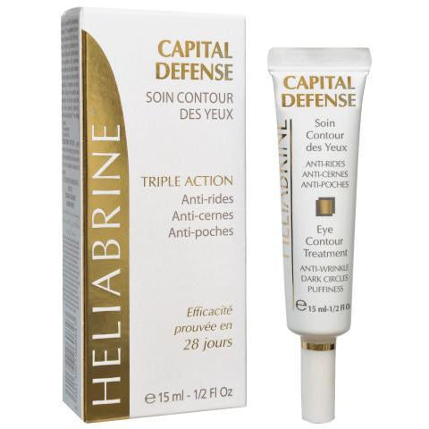 HELIABRINE Capital Defense Eye Contour Serum 15ml - The Beauty Shoppers