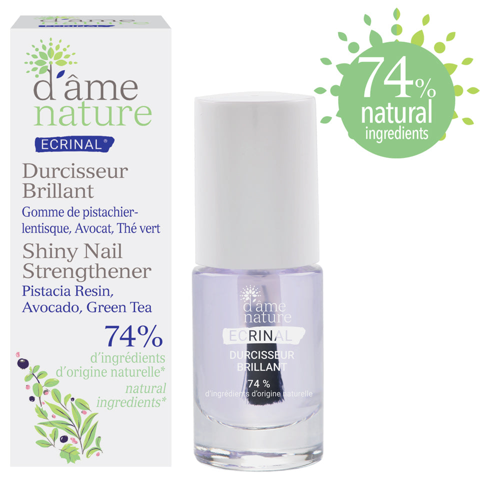 ECRINAL Shiny Nail Strengthener d'âme nature - The Beauty Shoppers