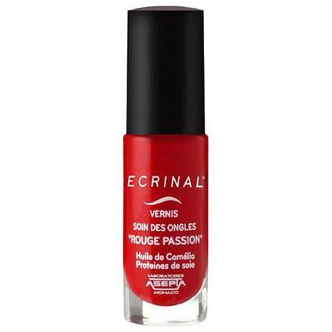 ECRINAL Gentle Nail Colour - Passion Red 6ml - The Beauty Shoppers