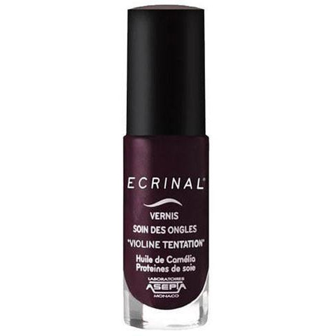 ECRINAL Gentle Nail Colour  - Deep Purple 6ml - The Beauty Shoppers