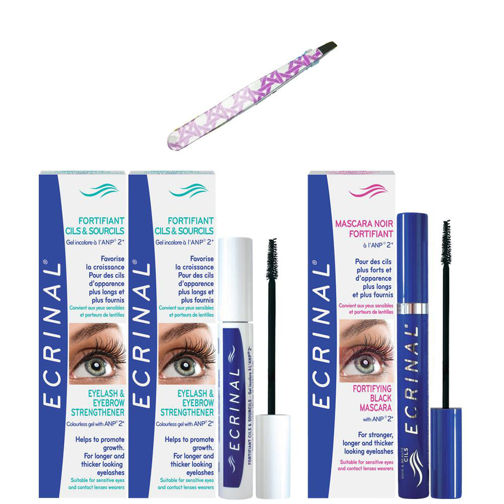ECRINAL Eyelash and Eyebrow Complete Care (package)
