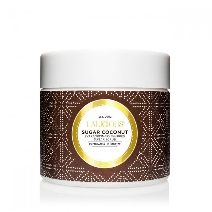 LALICIOUS Sugar Coconut Sugar Scrub - The Beauty Shoppers