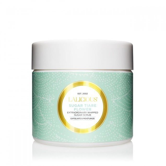 LALICIOUS Sugar Tiare Flower Sugar Scrub 2oz/56g - The Beauty Shoppers