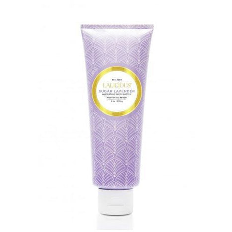 LALICIOUS Hydrating Body Butter Sugar Lavender  8oz/226g - The Beauty Shoppers
