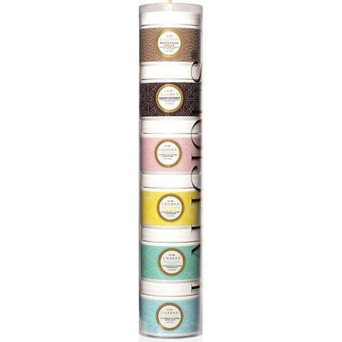 LALICIOUS Sugar Scrub Tower Gift Set 6 x  2oz/56g - The Beauty Shoppers