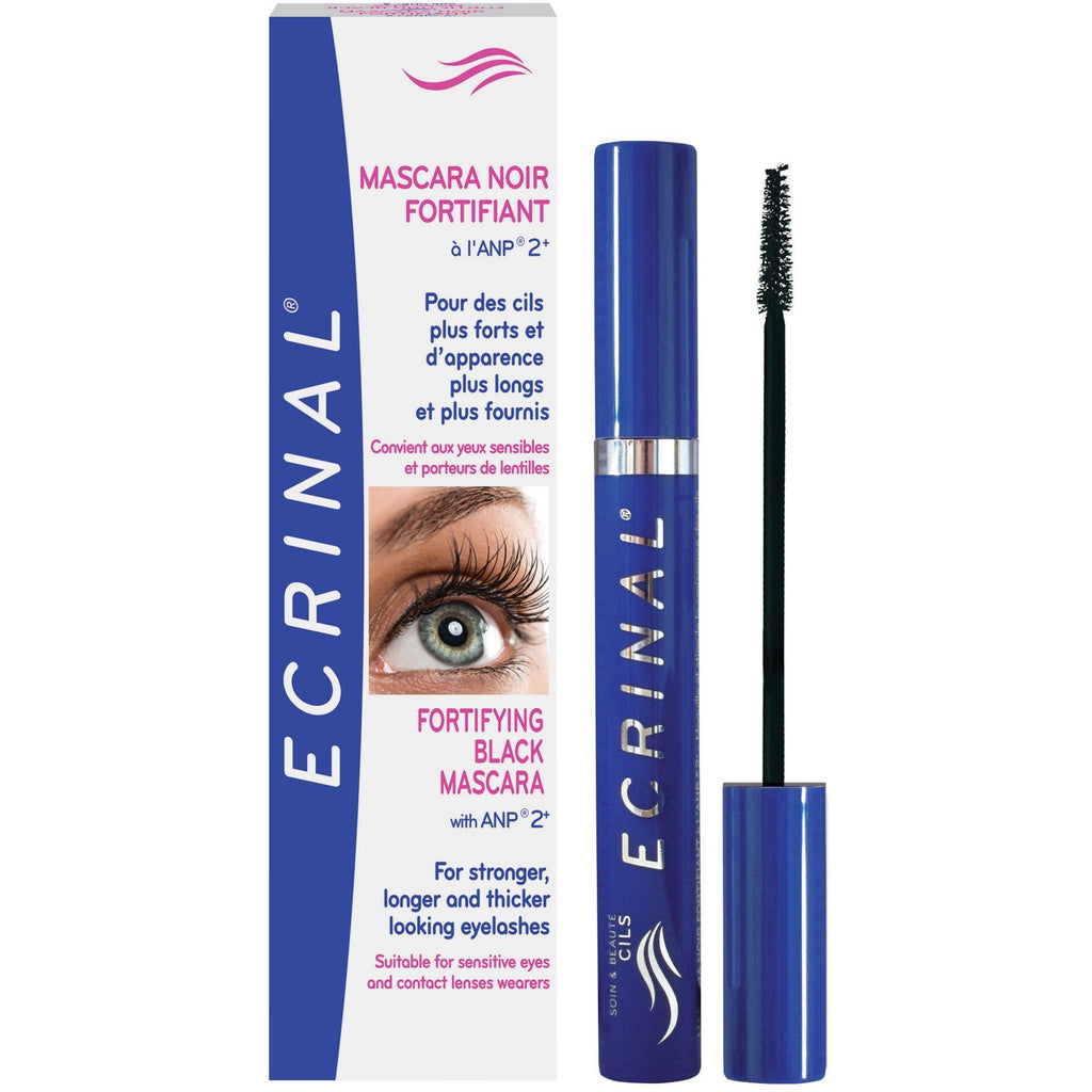 ECRINAL ANP2+ Strengthening Black Mascara 7ml - The Beauty Shoppers