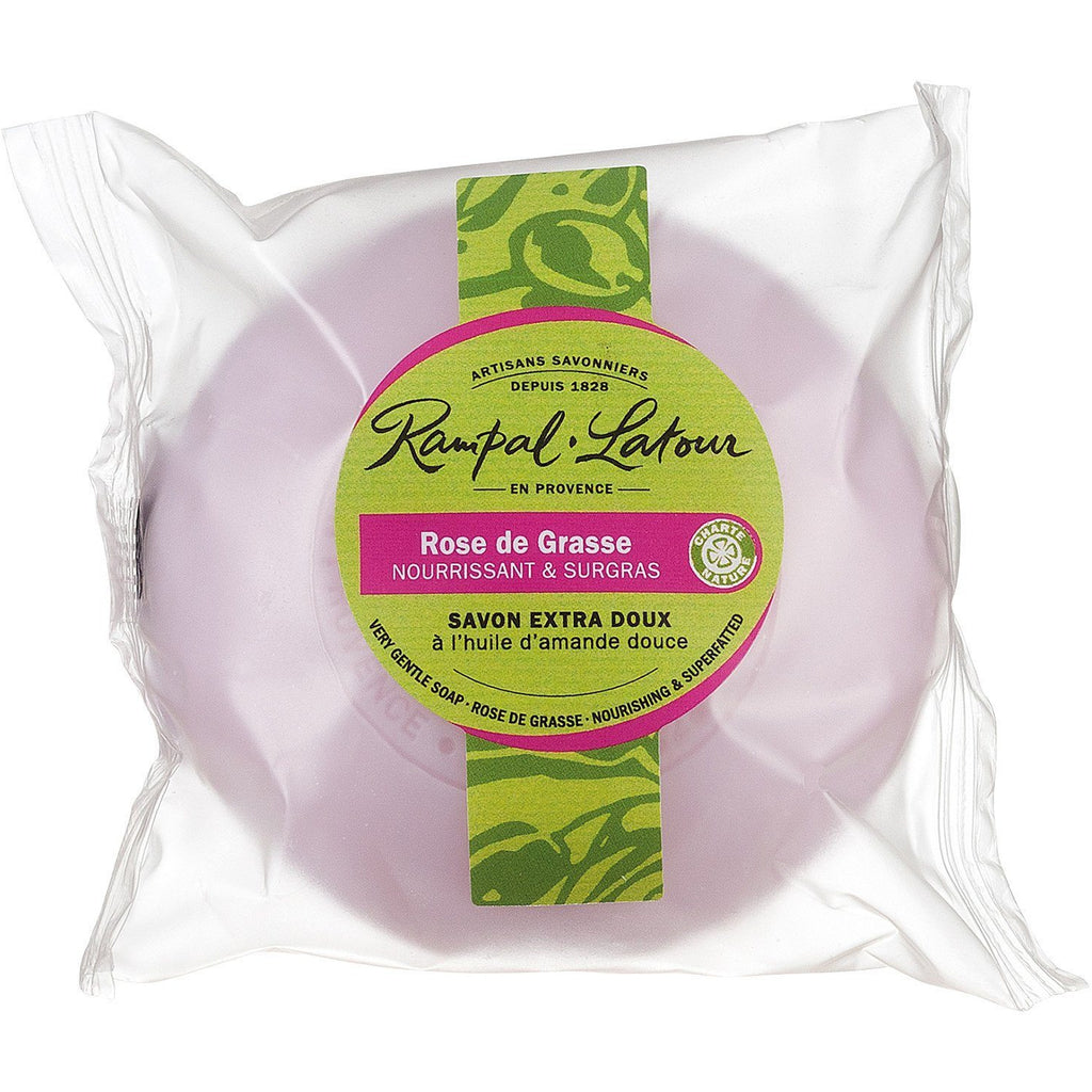 RAMPAL LATOUR 100g Rose de Grasse Soap - The Beauty Shoppers