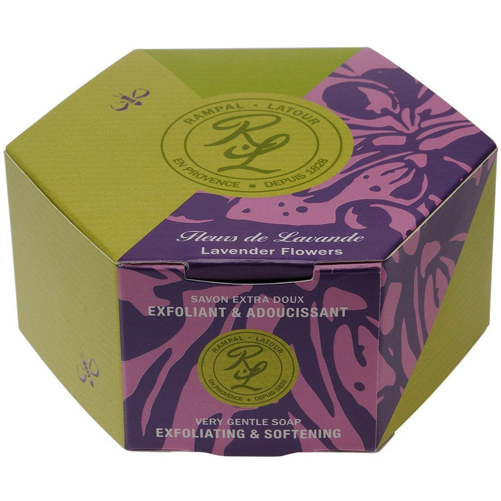 RAMPAL LATOUR 150g Lavender Flowers Soap - The Beauty Shoppers