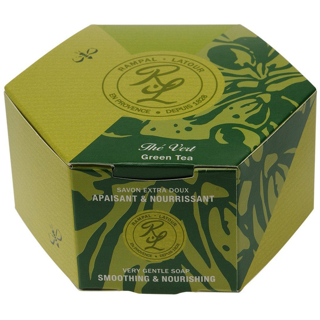 RAMPAL LATOUR 150g Green Tea Soap - The Beauty Shoppers