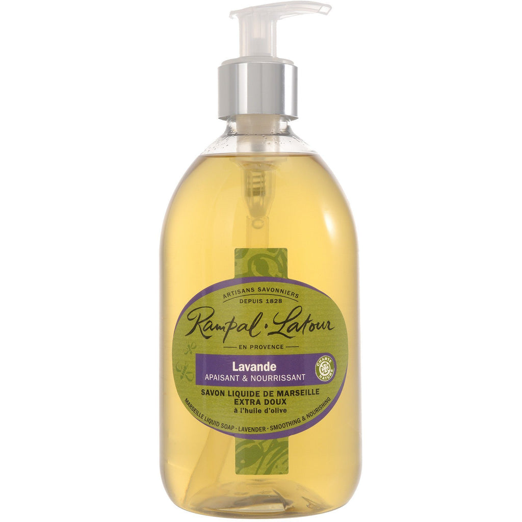 RAMPAL LATOUR Lavender Marseille Liquid Soap - The Beauty Shoppers