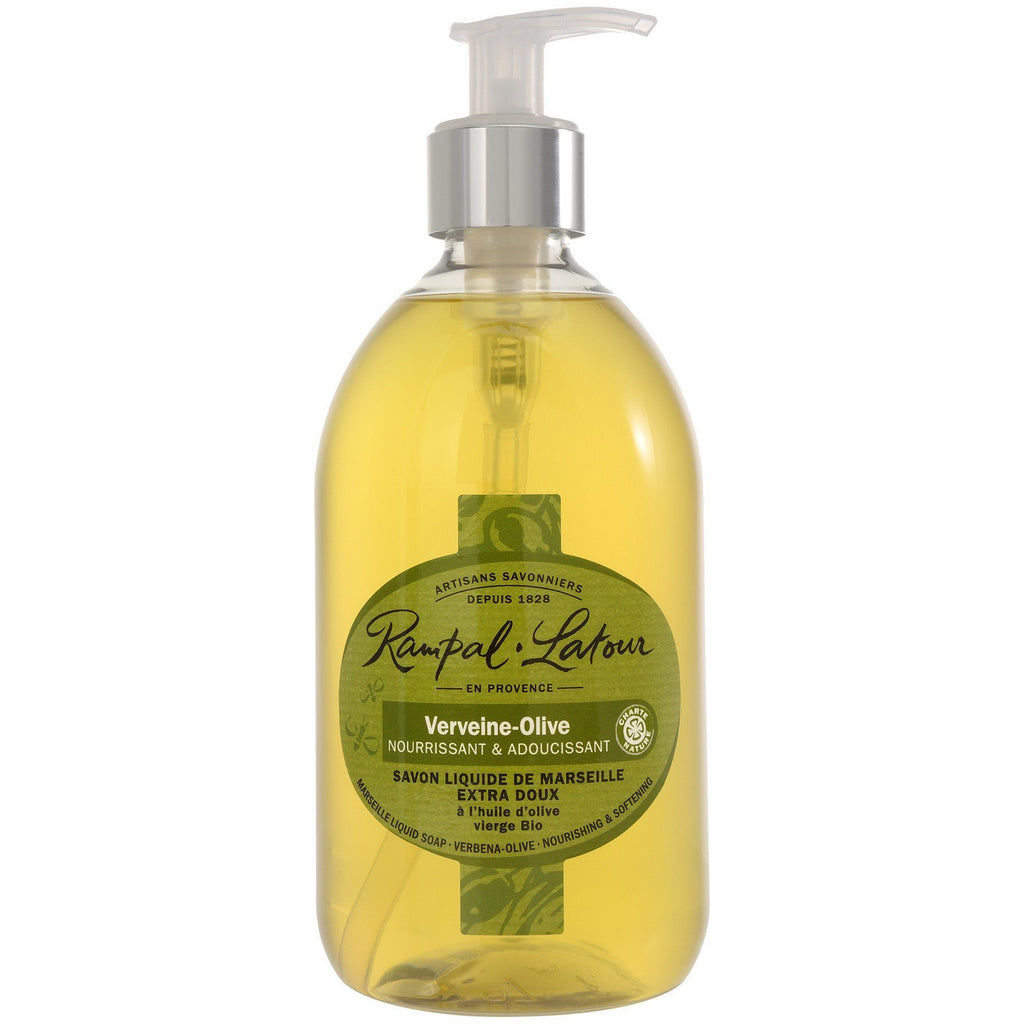 RAMPAL LATOUR Verbena-Olive Marseille Liquid Soap - The Beauty Shoppers