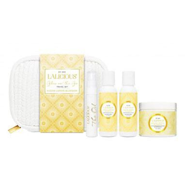 LALICIOUS Luxury Travel Essentials - Sugar Lemon Blossom - The Beauty Shoppers
