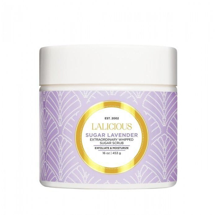 LALICIOUS Sugar Lavender Sugar Scrub - The Beauty Shoppers