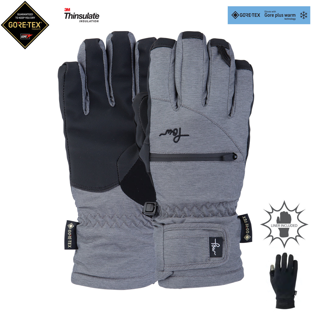 W'S CASCADIA GTX SHORT GLOVE +WARM