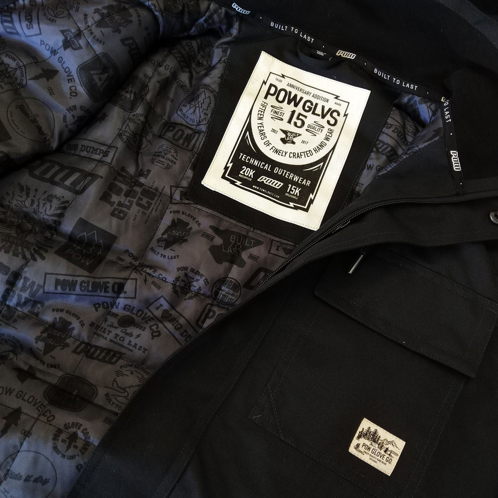 POW ANNIVERSARY JACKET - TRUE BLACK