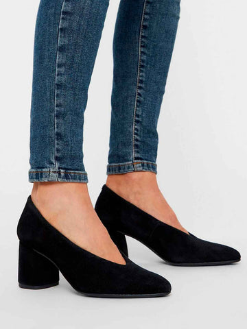 BIACHERISE Suede Pumps - Zwart