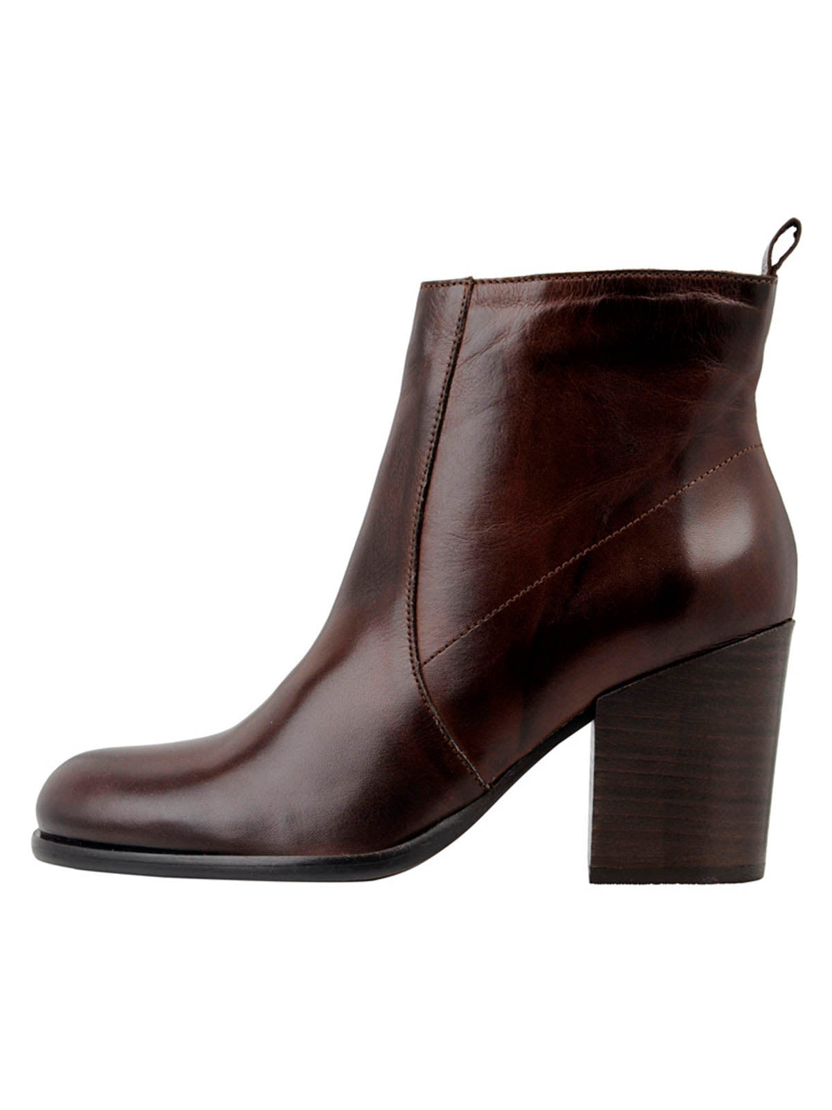 BIADELMA Ankle Boot - Dark Brown