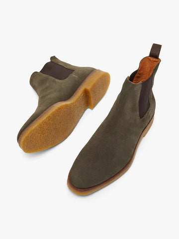 BIADINO Chelsea Boot - Dark Green