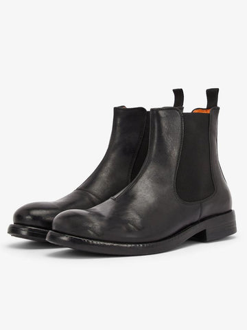 BIAACE Leather Chelsea Boot Mat - Black