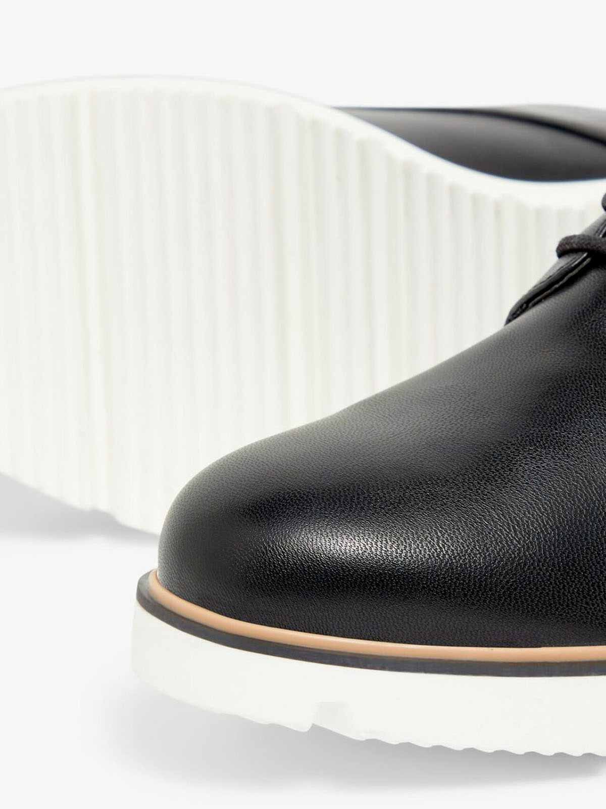 Biabita Laced Up Derby - Black
