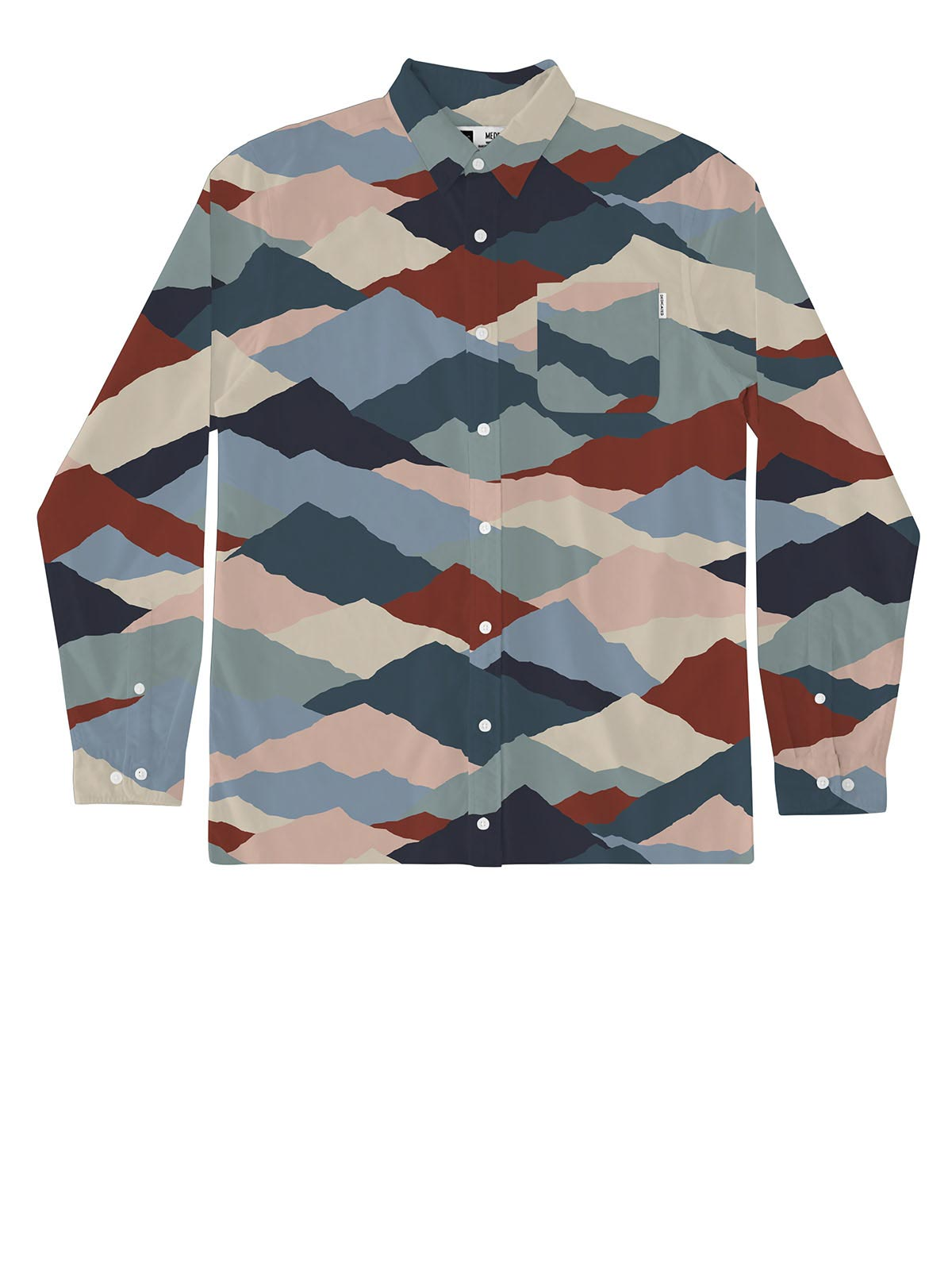 Varberg Mountain Peaks Shirt - Multi