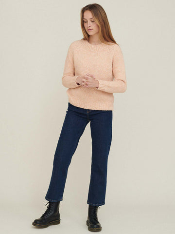 Aliki Sweater - Dusty Coral Melange