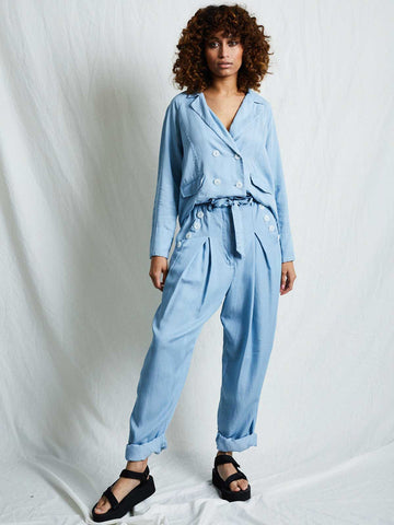 Nadia Pants - Blue Denim