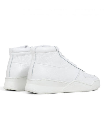 Wmns High Top - White Tumbled Leather - Revenge Utrecht