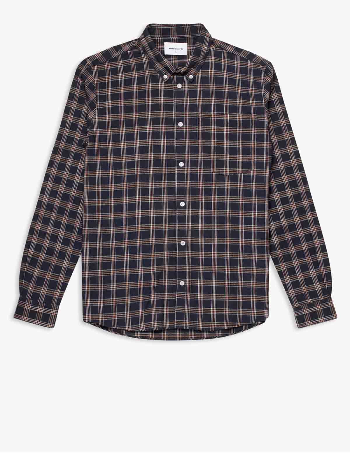 Klarxo Check Shirt - Navy