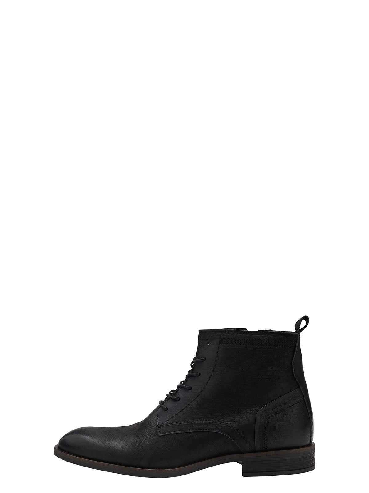 BFByron Leather Lace Up - Black