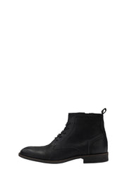 BFByron Leather Lace Up - Black - Revenge Utrecht