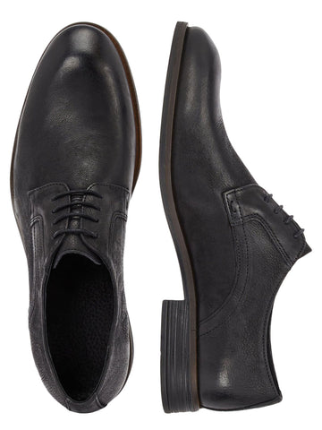 BFByron Leather Derby - Black - Revenge Utrecht