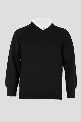 Boys v-neck school sweatshirt - Quality school uniforms at the School Clothing Company