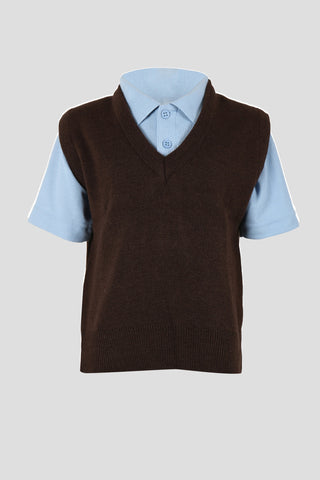 Boys v-neck School Tank Top - Quality school uniforms at the School Clothing Company