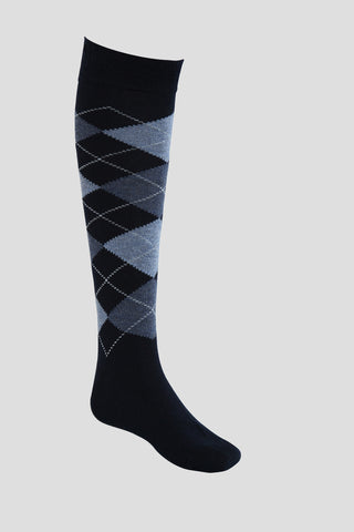Girls knee-high Argyll school socks - Quality school uniforms at the School Clothing Company