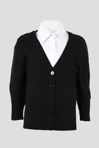 Girls fine knit school cardigan - Quality school uniforms at the School Clothing Company