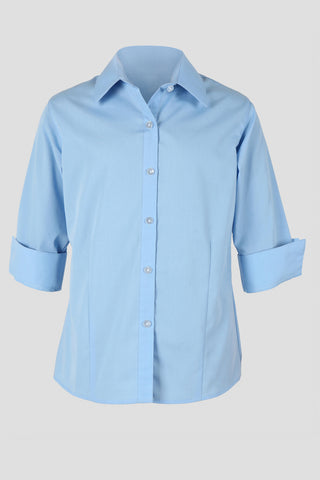 Girls fitted school blouse - Quality school uniforms at the School Clothing Company