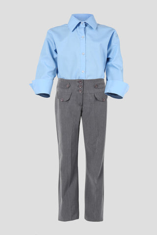 Girls boot cut school trousers - Quality school uniforms at the School Clothing Company