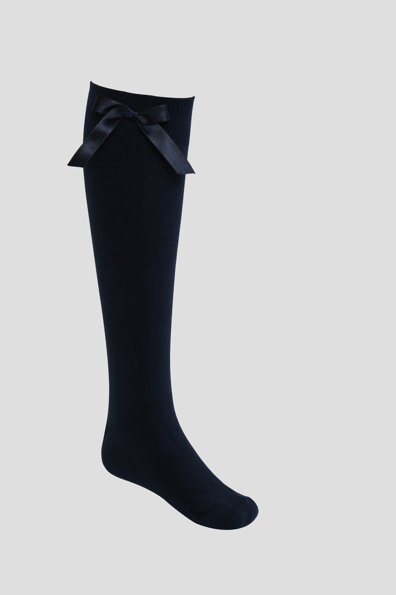 cb9361aefa8 Girls knee-high school socks with bow detail - Quality school uniforms at  the School Clothing Company