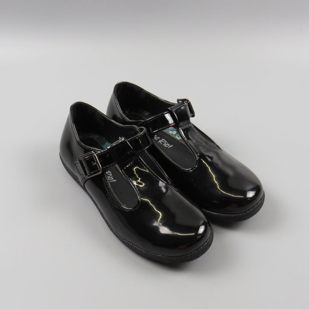 Girls T-bar school shoes - Quality school uniforms at the School Clothing Company