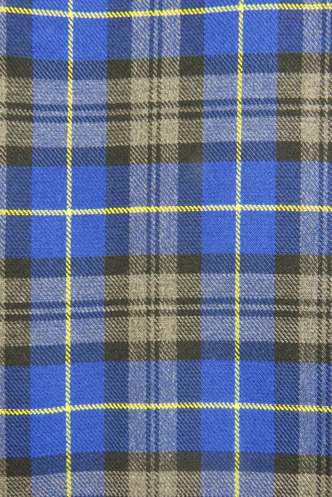 Girls school bib tartan pinafore with button detail - Quality school uniforms at the School Clothing Company