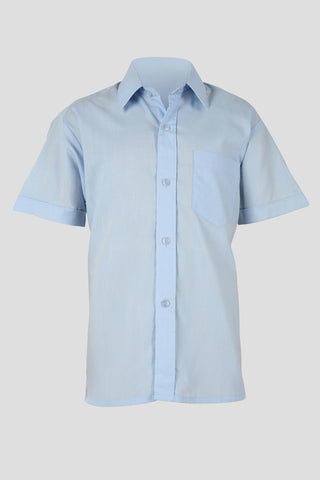 Boys short sleeved school shirt - Quality school uniforms at the School Clothing Company