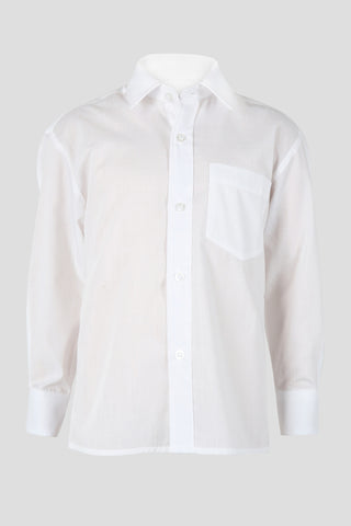 Boys long sleeved shirt - Quality school uniforms at the School Clothing Company