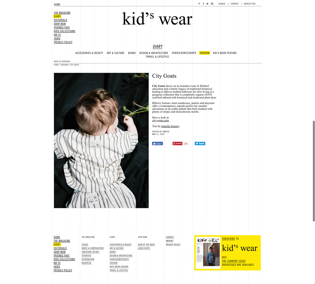 Kid's Wear Magazine