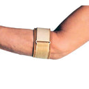 Cho-Pat Tennis Arm Splint, Secure and Support Over-Exercised Forearms Muscles, Small: 9 Inches - 10.5 Inches, Beige